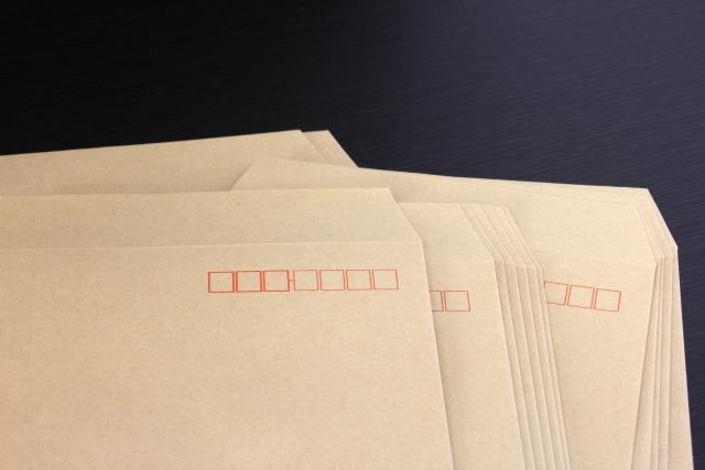 宛名の住所、番地の書き方を知りたい!縦書き封筒は漢数字?