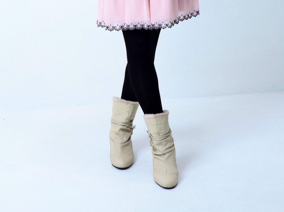 ブーツの季節~ヒールの調整で身長の高い&低いも解決?!